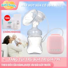 Máy hút sữa điện Kiuimi, Máy hút sữa điện kết hợp massage bầu ngực với 9 cấp độ – tự động tiết sữa – tránh tràn sữa – không gây tiếng ồn to, bé ngủ ngon giấc, máy hút sữa điện đơn KIUIMI