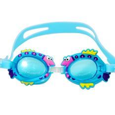 Kính bơi cho bé 4-10 tuổi hình thú vui nhộn không thấm nước – KB001