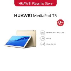 Máy tính bảng Huawei Mediapad T5 (3GB/32GB) | Chip Kirin 659 | Màn hình LCD 10.1 inch độ phân giải Full HD | Công nghệ âm thanh Dual stereo speakers | Dung lượng pin 5100 mAh