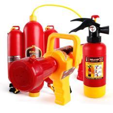 Đồ chơi phun nước chữa cháy tập làm lính cứu hoả Fire