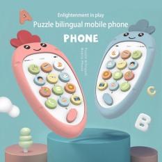 Điện thoại đồ chơi thông minh phát triển trí tuệ âm nhạc cho bé.