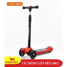 Xe Trượt Scooter 5688 Đỏ – Dòng sản phẩm cao cấp dành chuyên dành cho trẻ em 3 đến 9 tuổi