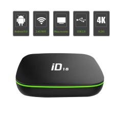 Poly mall (xã kho 3 ngày ) ID18 Android 9.0 os TV Box 2GB 16GB 4K 2.4GHz Wifi Quad Core Smart TV Box