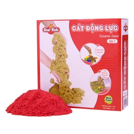 Cát động lực màu tự nhiên 1kg Star Kids (K301), giúp bé có những giây phút vui chơi thỏa thích...