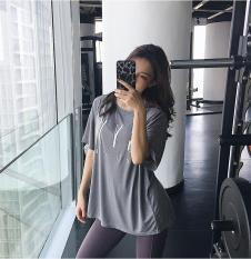 Áo thun thể thao nữ ngắn tay Oversize dáng rộng đồ tập gym nữ tập yoga nữ giá rẻ