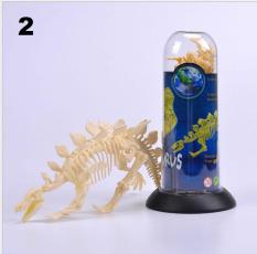 Lọ Mô hình xương khủng long đồ chơi lắp ráp