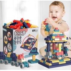 Bộ xếp hình Lego hộp giấy 520 chi tiết