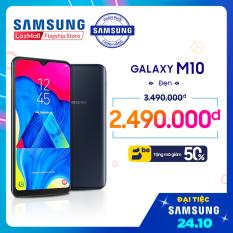 """Điện Thoại Samsung Galaxy M10 16GB (2GB RAM) – Màn hình tràn Infinity-V 6.2"""" HD, camera kép góc siêu rộng 13MP/5MP + 2 SIM Nano + Pin 3400 mAh – Hàng Phân Phối Chính Hãng."""