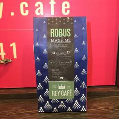 Cà phê Robus Mạnh Mẽ – 500gr Bột – Coffee Robusta & Culi nguyên chất có bơ – Rey Cafe