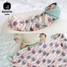 Chăn hè thu – chăn quấn ủ đa năng cao cấp cho bé Rototo bebe
