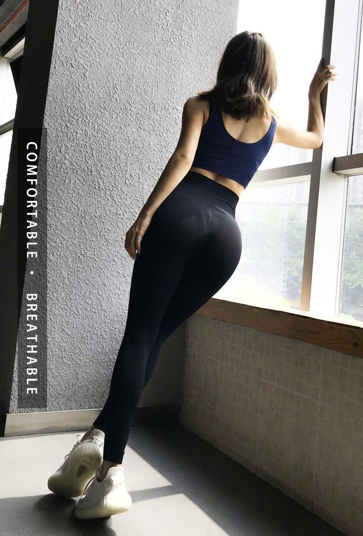 Quần thể thao tập gym yoga lưng cao QS19 cao cấp