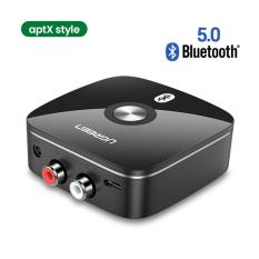 Thiết Bị Nhận Bluetooth 5.0 Music Receiver chính hãng UGREEN CM123 – Hỗ trợ 3.5mm và 2RCA