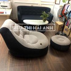 [ảnh thật] Ghế hơi tựa lưng cao cấp êm ái nhưng giường đệm hơi + tặng kèm bơm điện – GDBINHC13