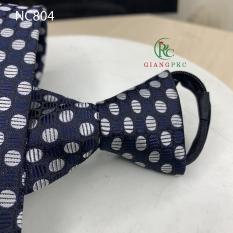 Cà vạt- caravat thắt sẵn bản 8cm pkcG