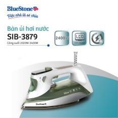 Bàn ủi hơi nước cao cấp 2400W Bluestone SIB-3879 – Mặt đế ceramic – Chức năng chống vôi hóa, chống nhỏ giọt – Bảo hành 2 năm – Hàng chính hãng