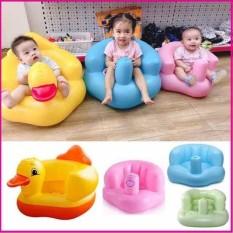 Ghế hơi tập ngồi cho bé, thiết kế tinh tế giúp bé ngồi vững, không ảnh hưởng tới xương sống, tiện dụng khi cho bé ăn