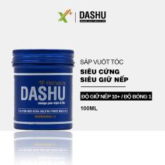 Sáp vuốt tóc nam DASHU For Men Ultra Holding Power 100ml Siêu cứng Siêu giữ nếp Không bóng bết Tự nhiên nam tính XP-SAP061