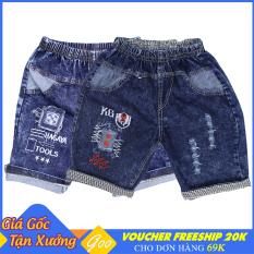 ComBo 2 Quần Short Jean bé trai chất vải cực đẹp – Cho bé từ 19-36kg [ ẢNH THẬT 100% DO SHOP CHỤP ]
