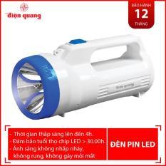 Đèn Pin LED Điện Quang ĐQ PFL06 R WB (Pin sạc, Trắng – Xanh dương)