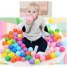 Túi 100 quả bóng nhựa 5cm cho bé chơi nhà bóng – bể bơi đa năng – Nhựa nhập Hàn Quốc – Sản xuất tại Việt Nam- Linak Home