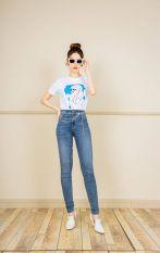 Quần jean skinny mài gối CChat Clothes