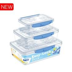 Bộ 3 Hộp Gài Matsu Trong Suốt 820ml – 1600ml – 2600ml. Bộ 3 hộp đựng thực phẩm an toàn