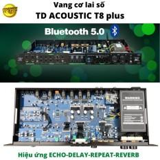 Vang cơ lai số Td Acoustic t8 plus-sản phẩm mới 2020-thêm chức năng bluetooth 5.0 sản phẩm chất lượng giá cả hợp lý độ bền cao dễ dàng sử dụng