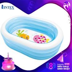 Bể bơi phao INTEX 57482 – Hồ bơi cho bé mini, Bể bơi phao trẻ em