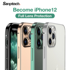 Ốp lưng cho điện thoại iPhone 11 12 Pro Max Mini XR X Xs Max 7 8 Plus SE 2020 bằng nhựa TPU mềm trong suốt – INTL
