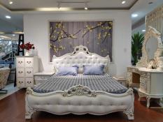 Giường ngủ cổ điển 1m8