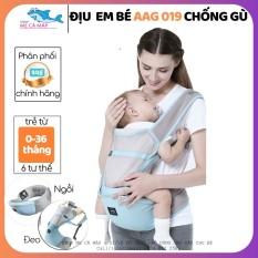 Địu em bé 6 tư thế AAG , địu em bé chống gù cho bé từ 0 – 36 tháng