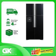 Tủ lạnh Hitachi Inverter 540 lít R-FW690PGV7 GBK, công nghệ kháng khuẩn khử mùi Nano Titanium, cảm biến nhiệt ECO – Bảo hành 12 tháng.