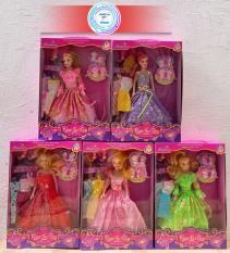 Đồ chơi nhân vật Búp bê thời trang – Búp bê hóa trang thay đổi quần áo, phụ kiện – Búp bê cử động được khớp tay khớp chân – Princess for baby girls