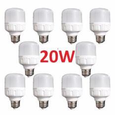 Combo 10 bóng đèn Led 20W cao cấp tiết kiệm năng lượng điện. Bảo hành: 12 Tháng. Cam kết giá rẻ nhất thị trường.
