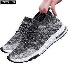 Giày sneaker nam, giay tập gym thoải mái, thoáng khí PETTINO – LLNS03 (tặng 01 cặp lót giày màu trắng)
