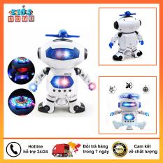 Robot đồ chơi xoay 360 độ biết nhảy và biết hát
