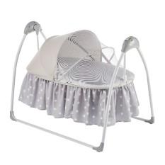 Nôi điện ru ngủ tự động cao cấp tích hợp nhạc trắng dành cho bé Mastela SG239 – Nôi điện điều khiển từ xa cho bé