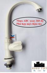 Vòi rửa bát chén Nhựa ABS lạnh gắn chậu xoay 360 độ (Bảo hành 12 tháng – 1 đổi 1 trong 7 ngày) Dễ dàng lắp đặt và sử dụng, không cần gọi thợ để lắp