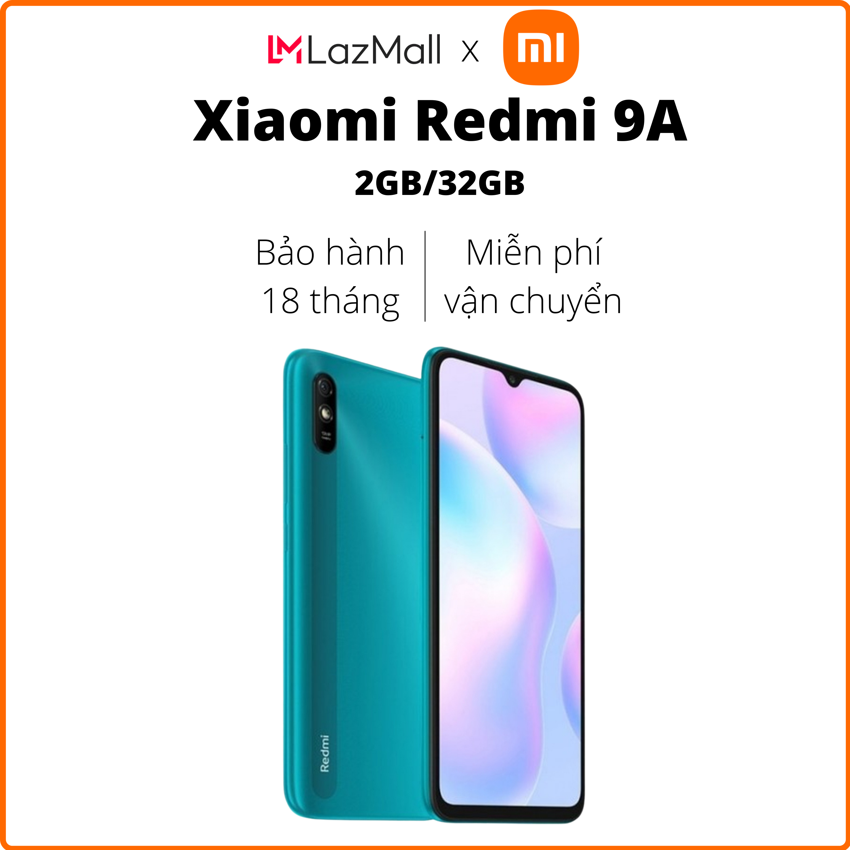 Điện thoại Xiaomi Redmi 9A (2GB/32GB) – Hàng chính hãng DGW – Bảo hành 18 tháng – Trả góp 0%