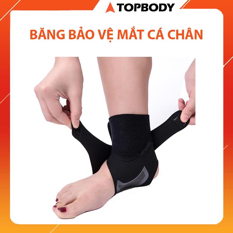 Băng cuốn bảo vệ mắt cá chân, hỗ trợ khi chơi thể thao, bảo vệ cổ chân khi tập Gym, thể dục, chống lật mắt cá chân