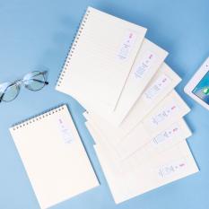 Sổ tay ghi chép bìa nhựa khổ A5 Deli 60 trang – Giấy kẻ ngang/kẻ ô vuông – 1 quyển – LPA560