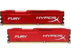 RAM Kingston HyperX Fury Red 8GB (1x8GB) DDR3 Bus 1600Mhz