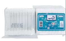 Tăm Bông Kháng Khuẩn Bịch Nhựa 100 Que Aquastar, Người Lớn, Công Nghệ Hàn Quốc, chất lượng đảm bảo an toàn đến sức khỏe người sử dụng cam kết hàng đúng mô tả