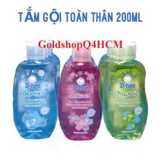 HCM, HSD 2022 – Tắm gội Dnee Pure Organic 200ml Thái Lan