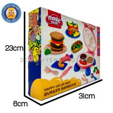 Đồ chơi đất nặn cho bé làm kem, làm hamburger, mẫu nặn nha khoa nhiều màu an toàn cho bé trên 1 tuổi / đất sét cho bé – Đồ khuyến mãi giá tốt
