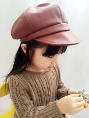 Mũ da bé gái phong cách thời trang Hàn 2018 K62
