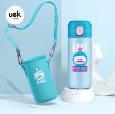 Bình giữ nhiệt UEK có quai đeo vai mẫu mới 2020, cam kết hàng chính hãng UEK, sản phẩm nhận được như hình và mô tả