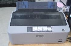 Máy in kim Epson LQ 310 cũ dùng in hóa đơn VAT từ 1-4 liên, in giấy đục lỗ A4, A5, in phiếu xuất hàng