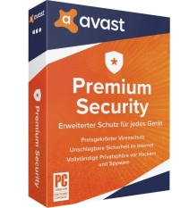Phần mềm Avast Premium Security 2020 1 năm 10 thiết bị