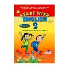 Sách – Start With English 2 – Sách Tiếng Anh Dành Cho Học Sinh Lớp 2 – Kèm File Âm Thanh